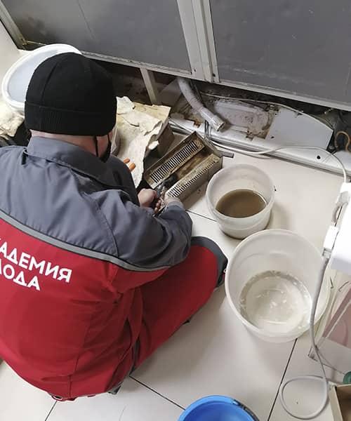 Фото 1 наши работы по обслуживанию холодильного оборудования
