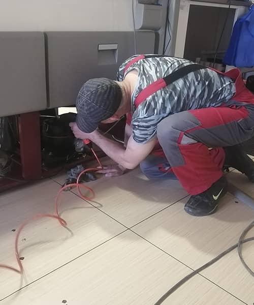 Фото 3 наши работы по обслуживанию холодильного оборудования