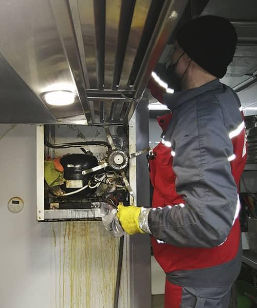 Фото 4 наши работы по ремонту холодильного оборудования