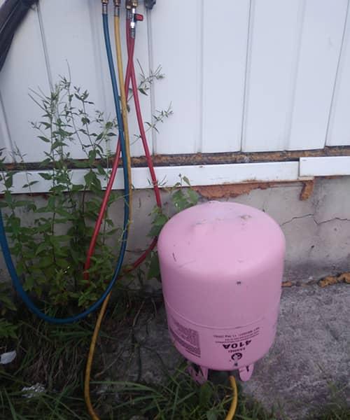 Фото 4 наши работы по ремонту кондиционеров
