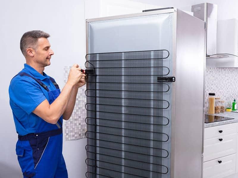 Фото ремонт холодильников в Тюмени