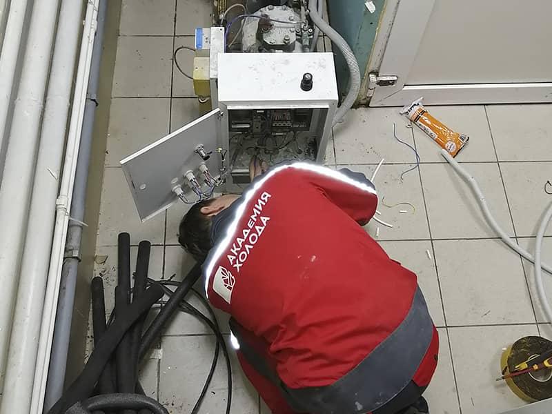 Фото ремонт холодильных установок