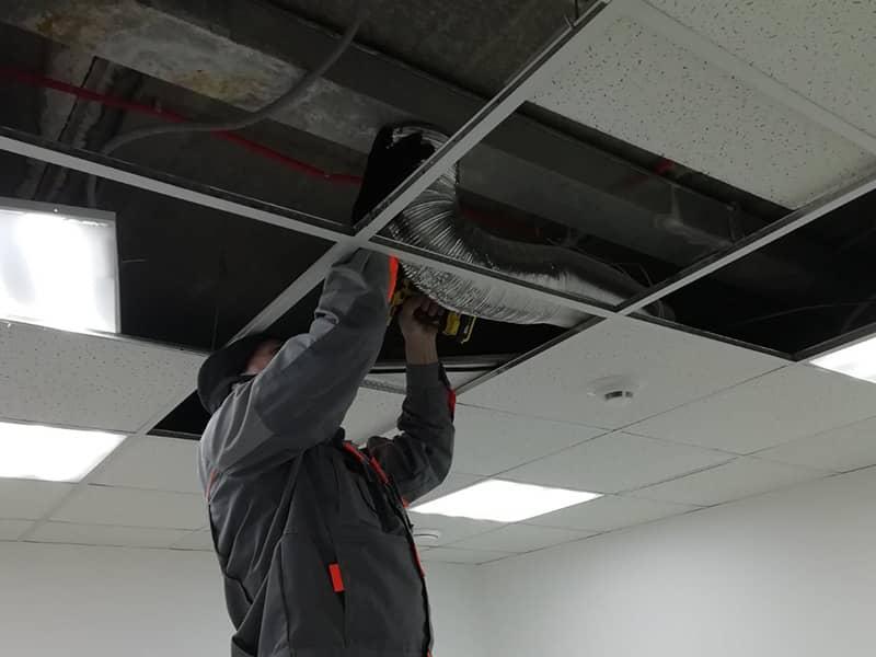 Фото ремонт вентиляции