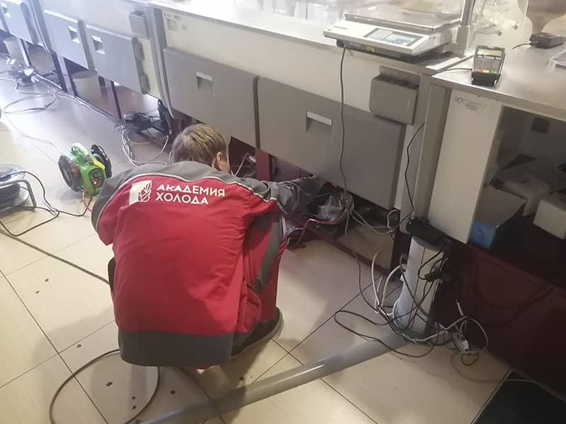 Фото техническое обслуживание холодильного оборудования