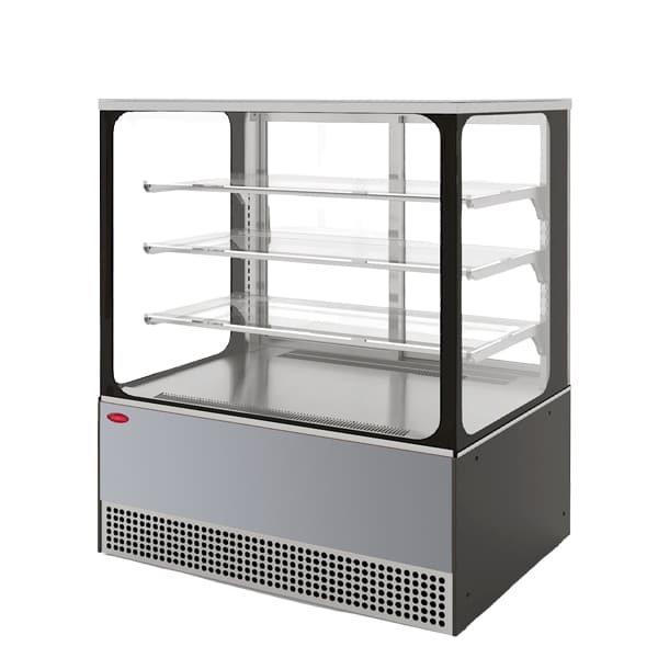 Фото холодильная витрина Veneto VS-1,3 Cube (нерж.)