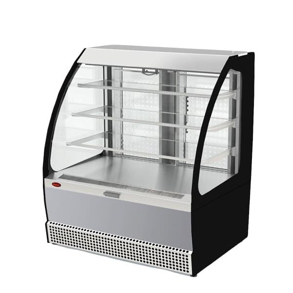 Фото холодильная витрина Veneto VSo-1,3 (нерж.)