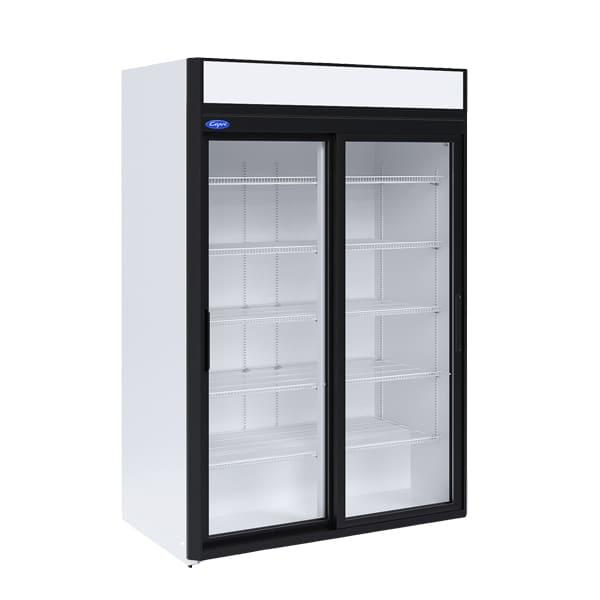 Фото холодильный шкаф Капри 1,12СК купе ступенчатый